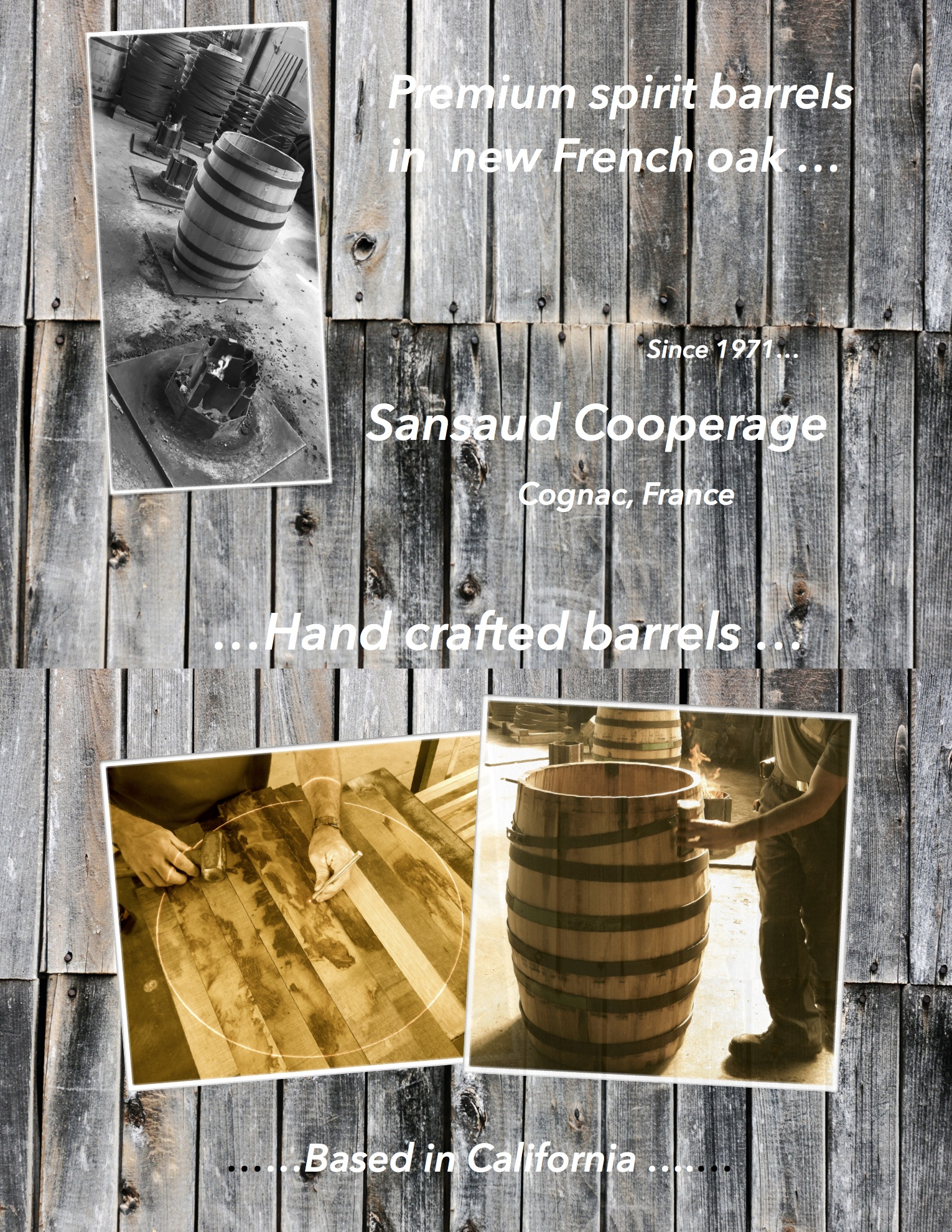 Premium Barrels 1 page de couv WordPress 1